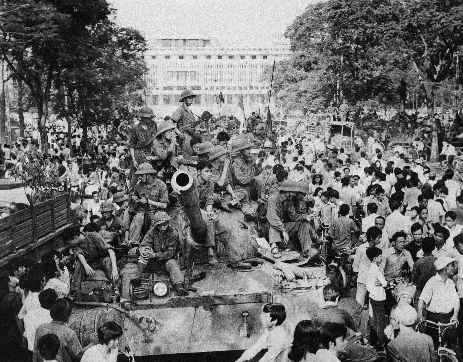 שחרור סייגון: היום לפני 46 שנים שוחררה העיר מהכיבוש האמריקאי