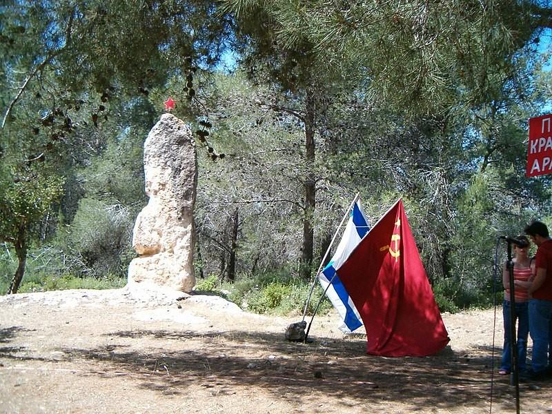 כרמלה שבה ליער הצבא האדום: רשמים מטקס יום הניצחון על גרמניה הנאצית