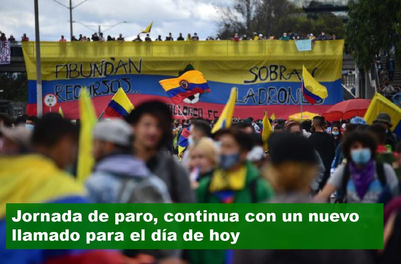 שבועיים לשביתה הכללית ולמחאות ההמוניות בקולומביה; התפטרה שרת החוץ