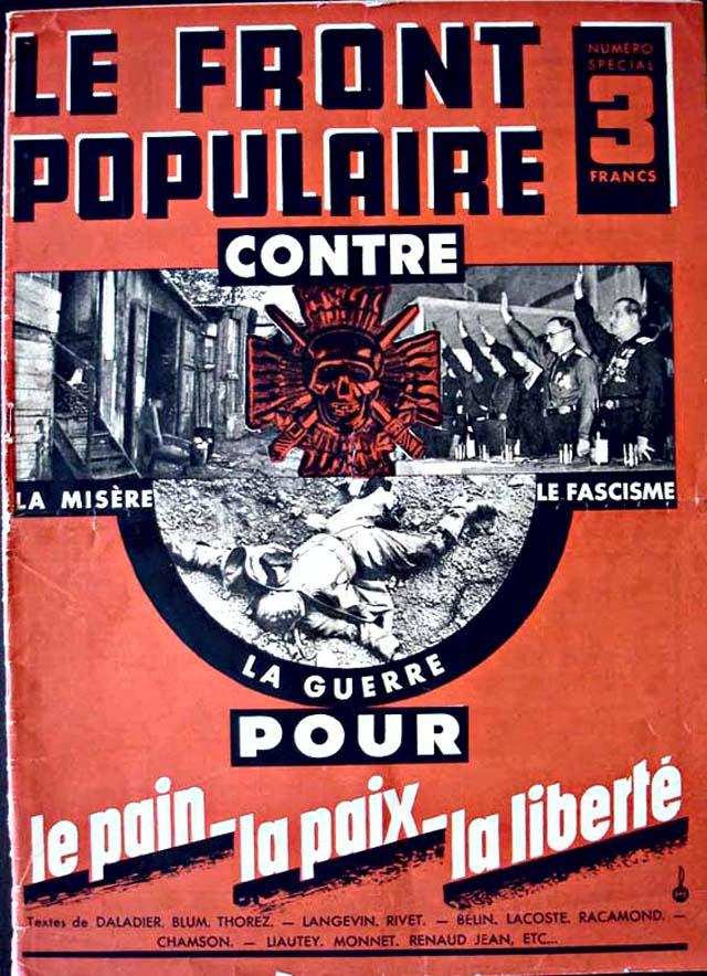 3 במאי 1936: ניצחון סוחף של החזית העממית של צרפת ; חבילת חקיקה שמאלית מועברת בזריזות
