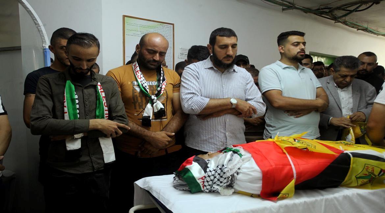 בן 20 נורה למוות בידי חיילי הכיבוש בהלוויית בן ה-11 שנהרג בבית אומר