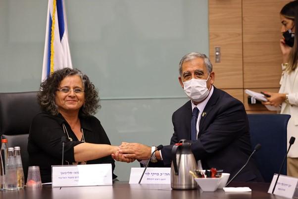 """ח""""כ עאידה תומא-סלימאן נבחרה לעמוד בראשות הוועדה לקידום מעמד האישה ושוויון מגדרי"""