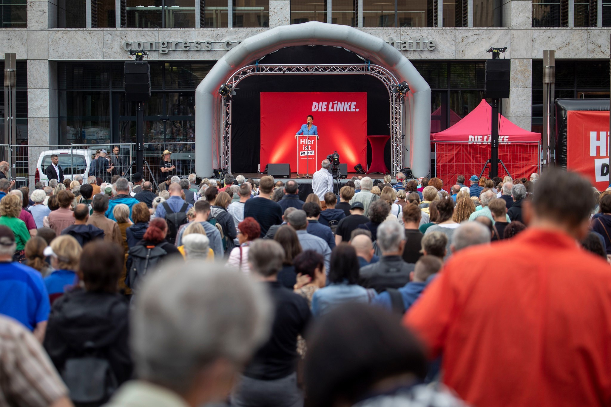 לקראת מהפך בגרמניה? מפלגת השמאל מציעה ממשלת שינוי עם הסוציאל-דמוקרטיה והירוקים