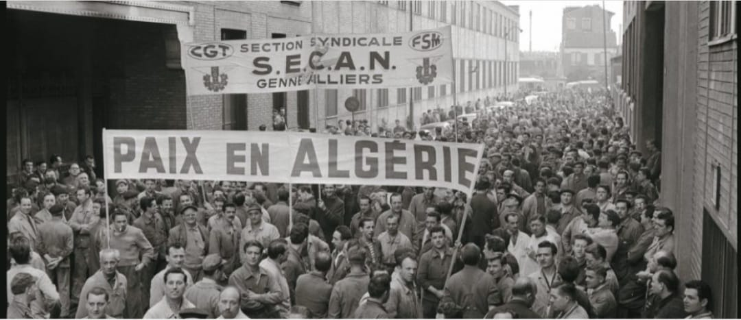 """ב-6 בספטמבר 1960 התפרסם בכתב עת מחתרתי בצרפת """"הצהרת ה-121"""" מנסחיה הביעו תמיכה במאבק העם האלג'יראי"""