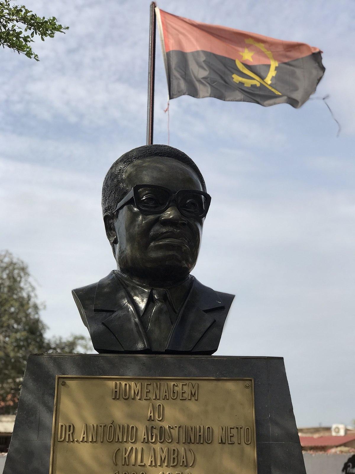 אבי האומה האנגולית ומשחררה מהעול הקולוניאלי ; דר' אנטוניו אגושטיניו נאטו מת ב-10 בספטמבר 1979