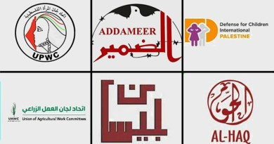 """הכיבוש הוא טרור: מק""""י וחד""""ש בתגובה להכרזת גנץ על שישה ארגונים פלסטינים ארגוני טרור"""