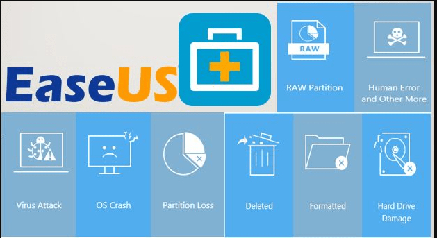 EaseUS Data Recovery Wizard 13.3 License Code [Crack] Download