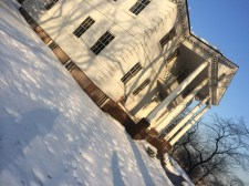 Morris Jummel Mansion -- with it's own share of haunted stories.