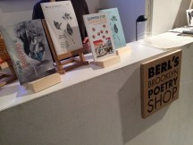 The two books on display at Berl's