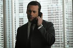 Ο Τζον Χαμ ως Ντον Ντρέιπερ στο Mad Men του AMC