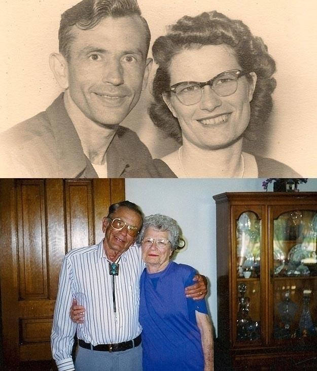 Norma και Gordon Yeager. Παντρεμένοι 72 χρόνια. Πέθαναν στο ίδιο νοσοκομείο με διαφορά μιας ώρας, κρατόντας ο ένας το χέρι του άλλου.