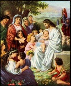 Jesus Welcomes the Children Luke 18:15-17