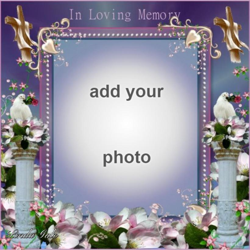 Imikimi Photo Frame In Loving Memory | Frameswalls.org