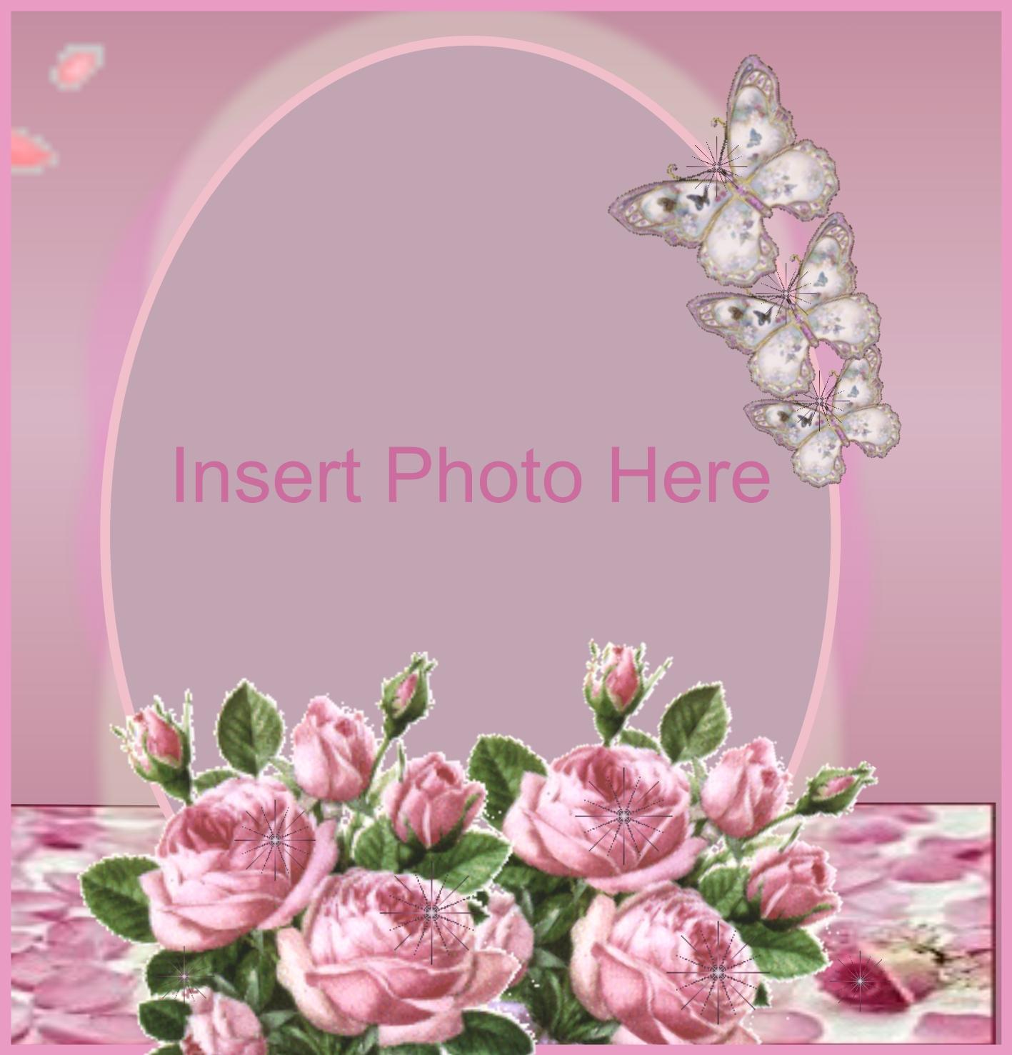 Imikimi beautiful flower frames framess imikimi zo picture frames 2008 april beautiful flower frame tjkstevens pictureframes izmirmasajfo
