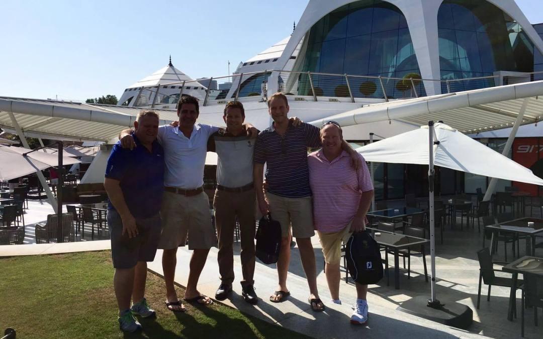 Zokit Golfers Escape the Frost in Dubai!