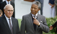De Klerk y Mandela