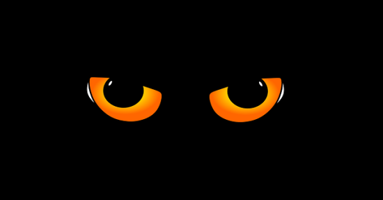 Ojos amenazantes