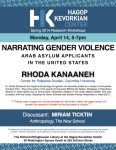 Narrating Gender Violence