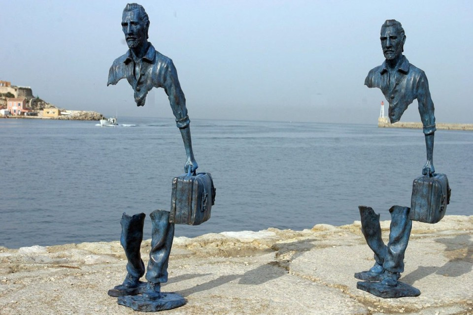 Photo: Bruno Catalano, Le Grand Van Gogh, Marseilles, France, 2013, source: Pinterest