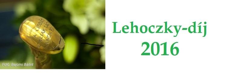 Lehoczky – díj 2016