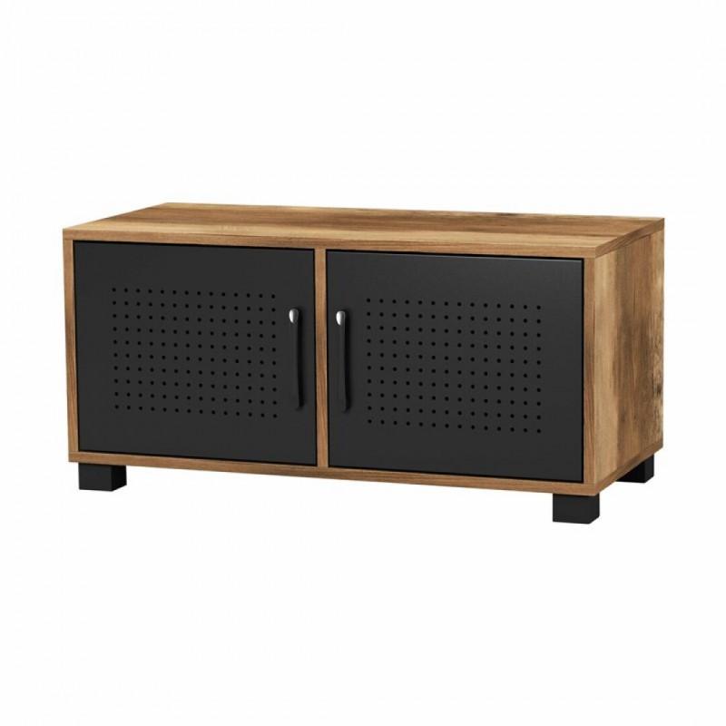 meuble tv en effet bois paris 75 5x36cm