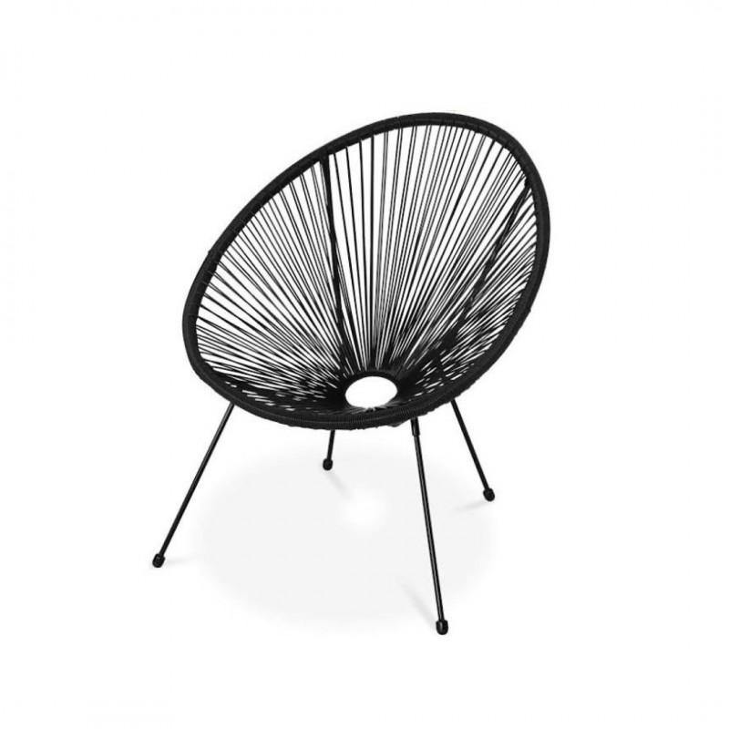 fauteuil de jardin en plastique 𝗽𝗮𝘀