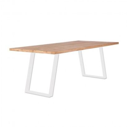 grande table de salle a manger 8 10personnes bois chene massif 220cm