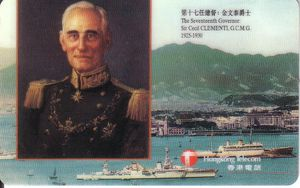 Governor Sir Cecil Clementi - 1925-1930