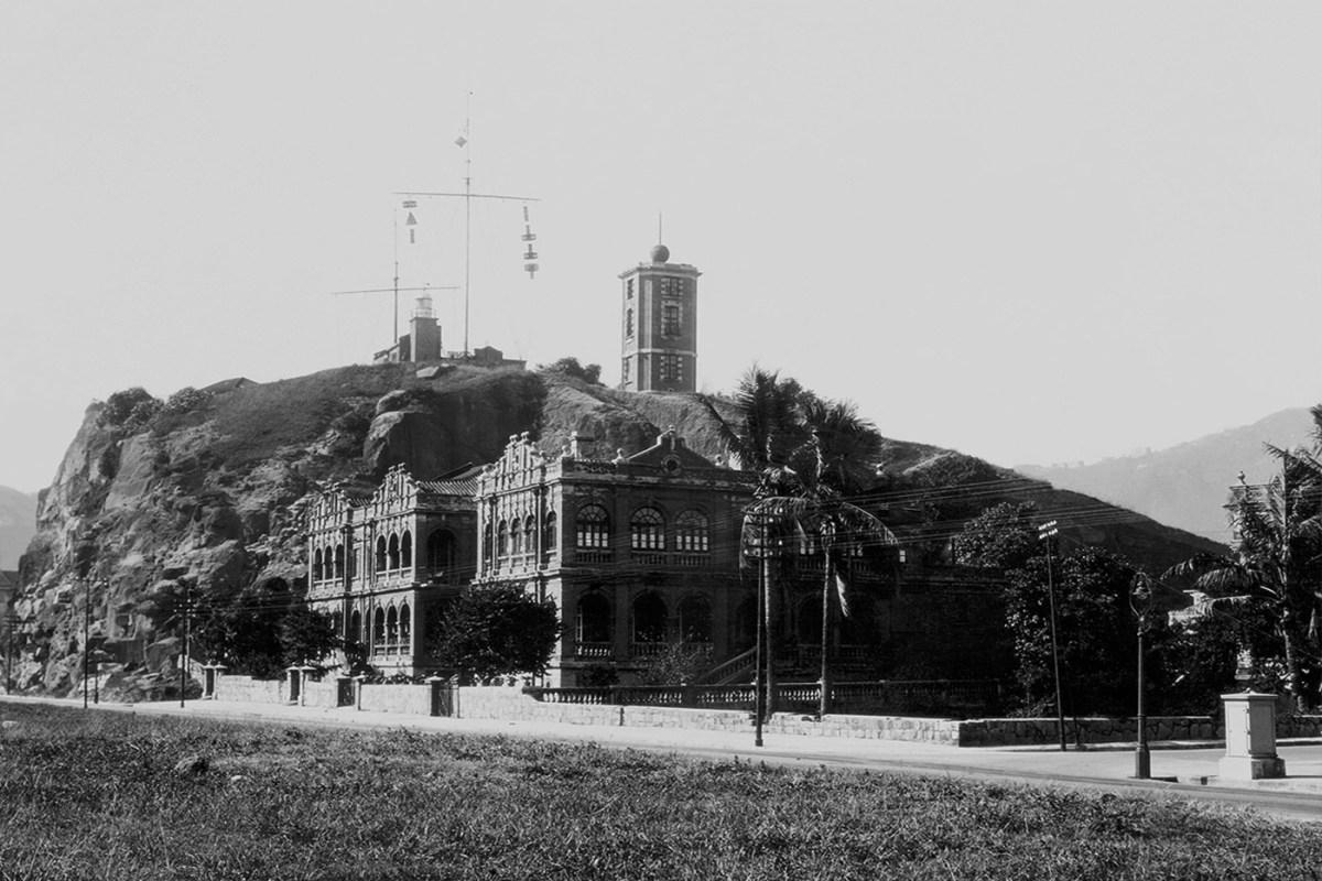 Signal Station on Blackhead Point, Tsim Sha Tsui, circa 1925 - Courtesy of Picture this Gallery