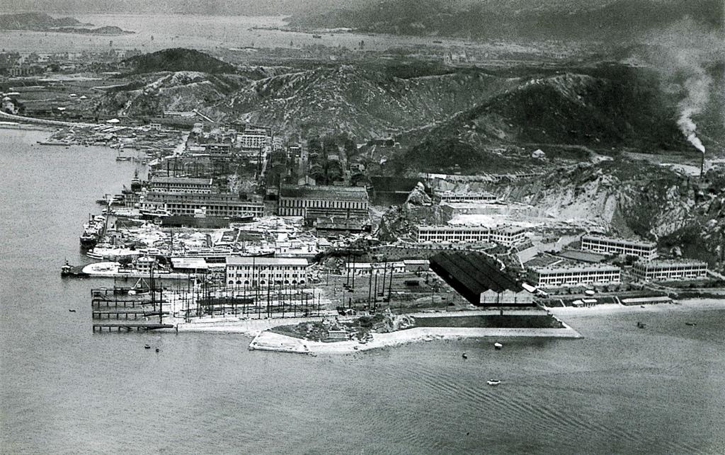 Whampoa docks, circa 1925