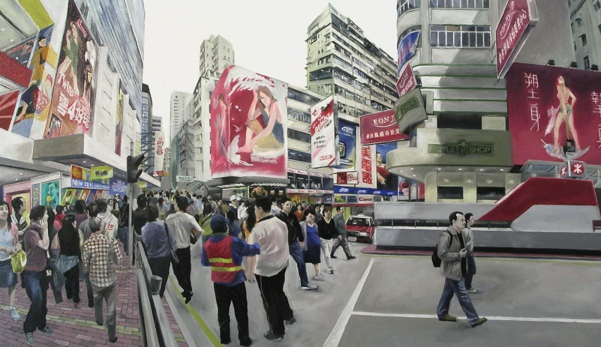 Chow Chun-fai Mong-Kok-Sai Yeung Choi Street