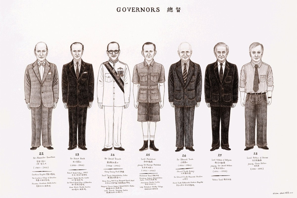 Wilson Shieh - The Twenty-Eight HK Governors