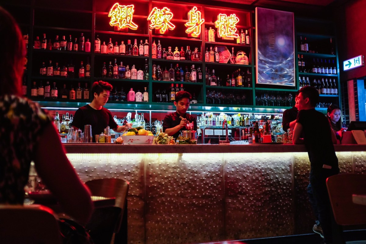 Revival of neons at Ping Pong in Sai Yin Pung