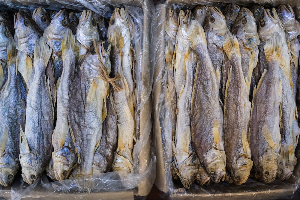 salted fish