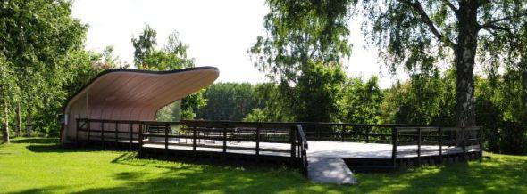 Utedansbanan Snäckan på Nordanå, i närheten av Nordanågården, är där vi håller till med yogan.
