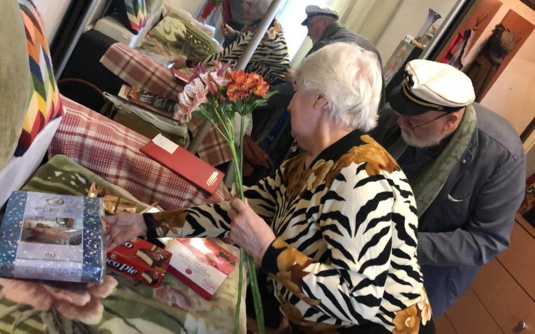 Адресная помощь на дому, посвящённая Международному дню пожилого человека