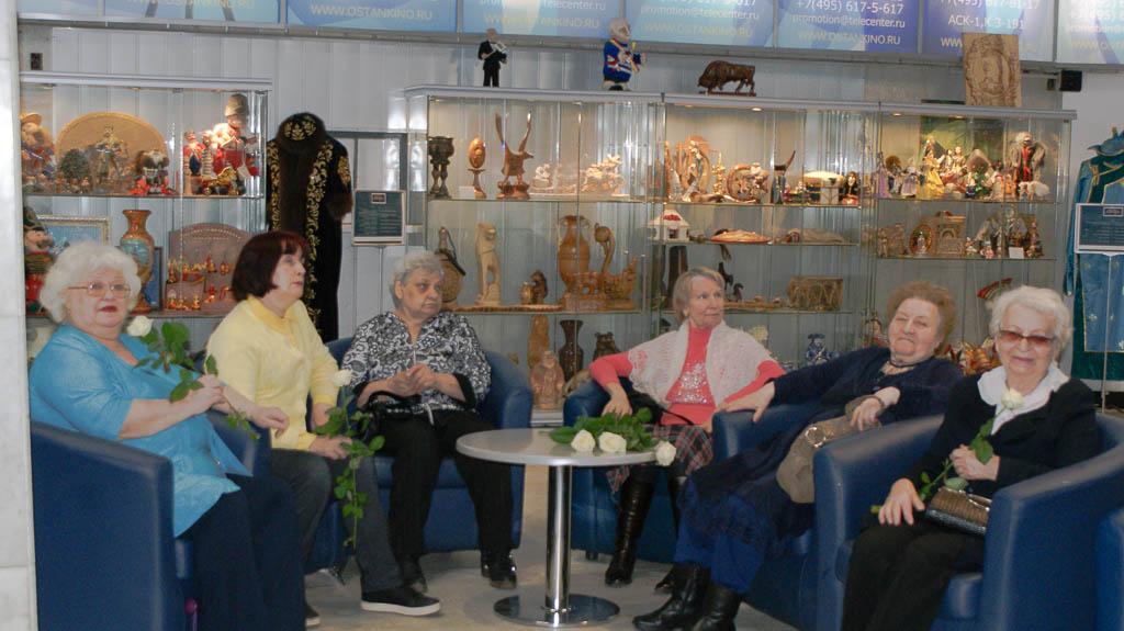 """Благотворительная встреча """"Мы с вами где-то встречались"""", посвящённая Международному женскому дню 8 Марта, в телецентре """"Останкино"""""""