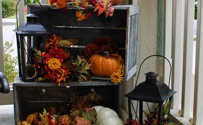10 Fall Porch Decorating Ideas Pretty My Party