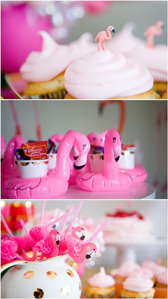 Sweet Simple Girl Wallpaper Flamingo Theme Birthday Party Pretty My Party Party Ideas