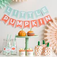 21 Little Pumpkin Baby Shower Ideas - Pretty My Party ...