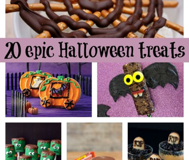 Epic Halloween Themed Desserts Via Pretty My Party