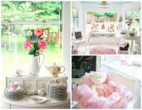 Vintage Baby Girl Shower - Pretty My Party - Party Ideas