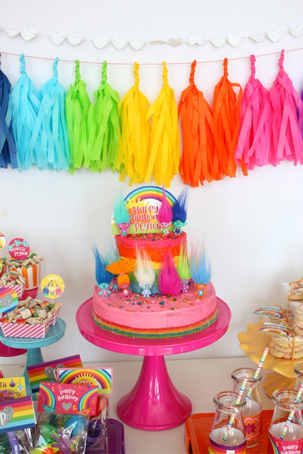 20 Terrific Trolls Party Ideas Pretty My Party Party Ideas