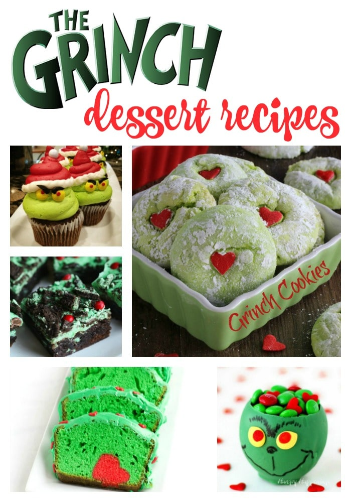 grinch party food ideas
