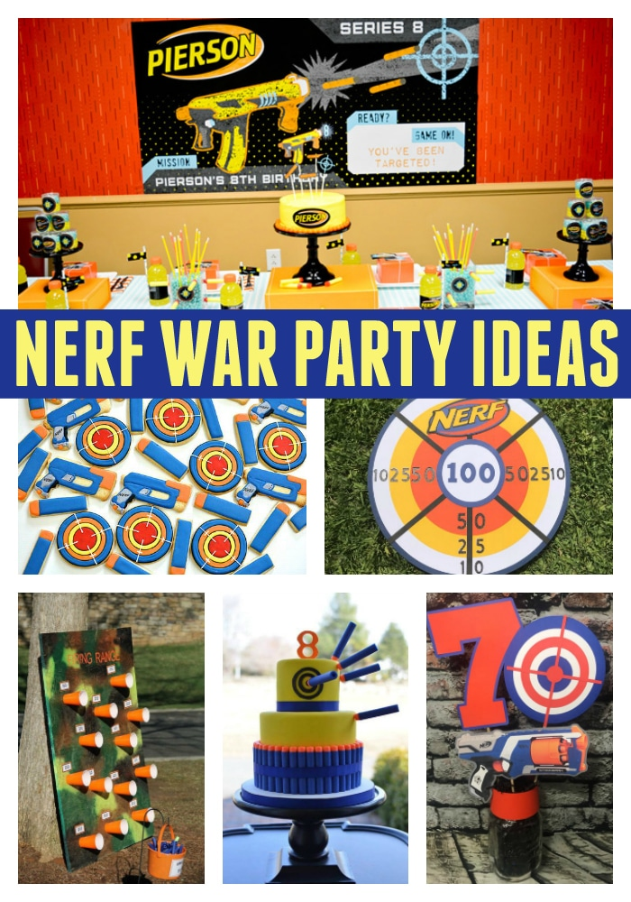 incredible nerf party ideas pretty my