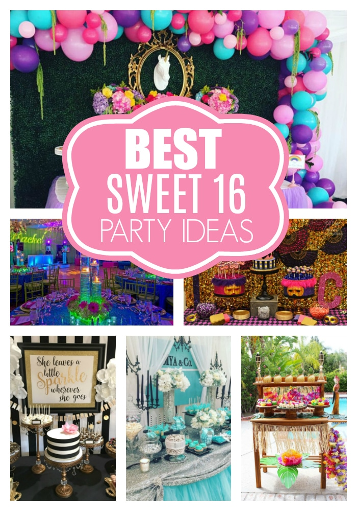 best sweet 16 party