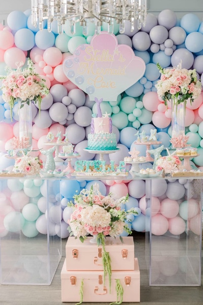 Mermaid Kisses Starfish Wishes Party Pretty My Party Party Ideas