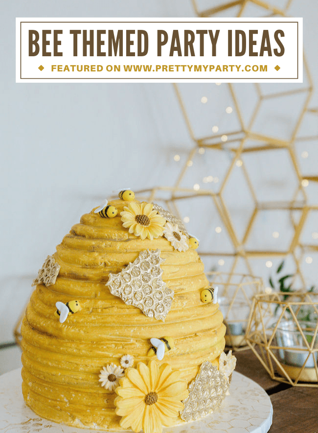 bee themed birthday party pretty my