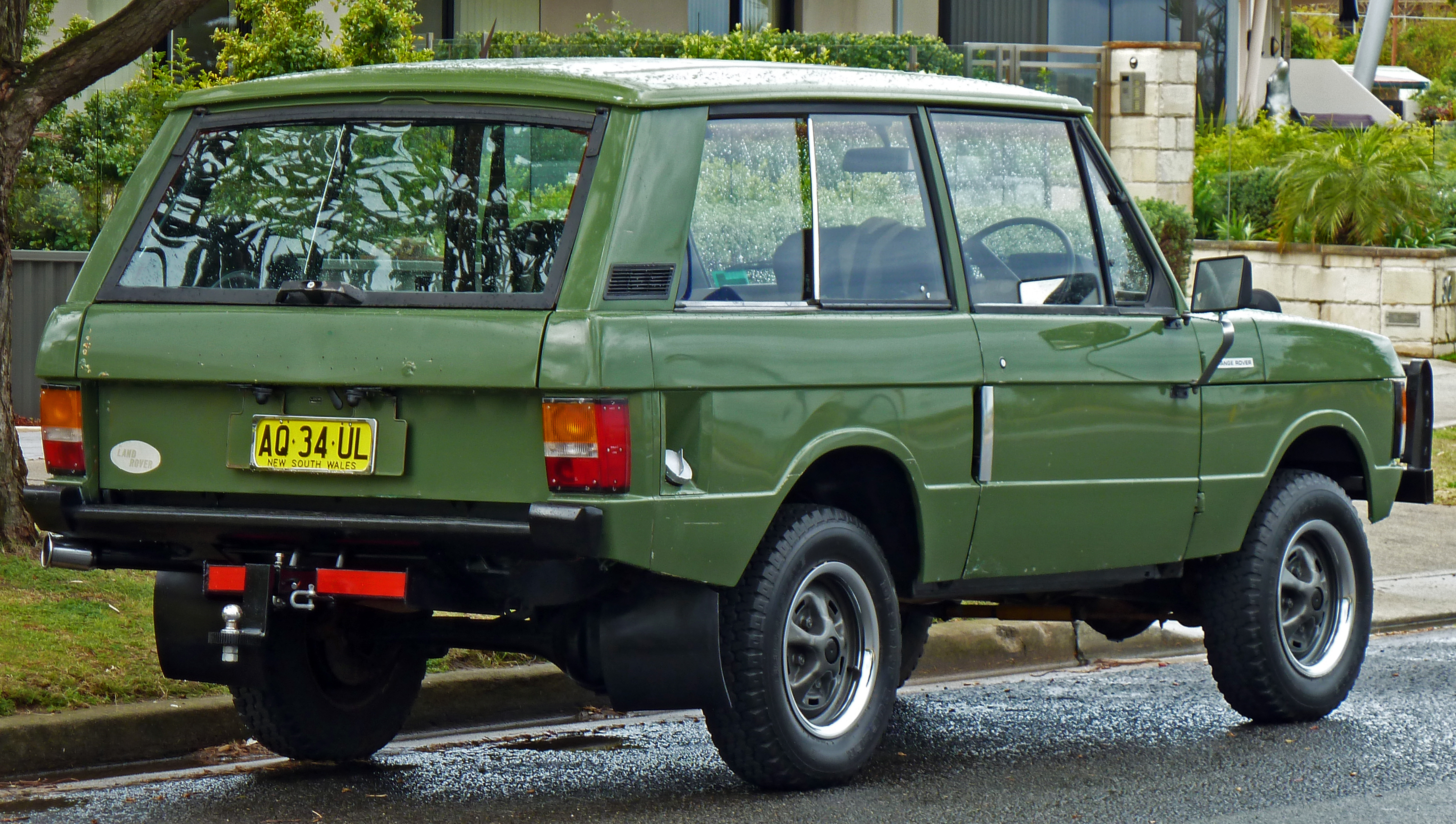 1991 Land Rover Range Rover Information and photos ZombieDrive