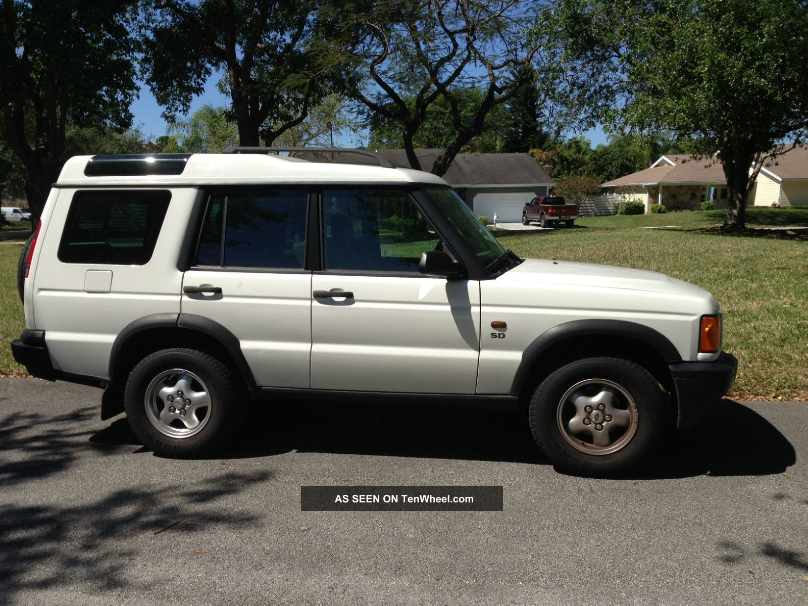 2001 Land Rover Discovery Series II Information and photos